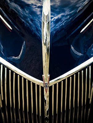 Autofocus Photograph - Ford V8 Grill by Phil 'motography' Clark