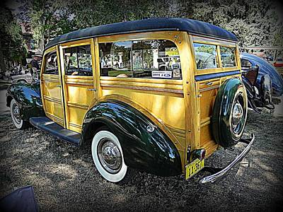 Wall Art - Photograph - Ford Woody by Mickey Murphy