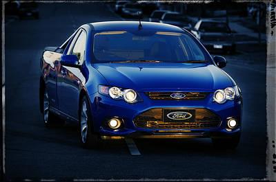 Photograph - Ford Xr6 by Tim Nichols