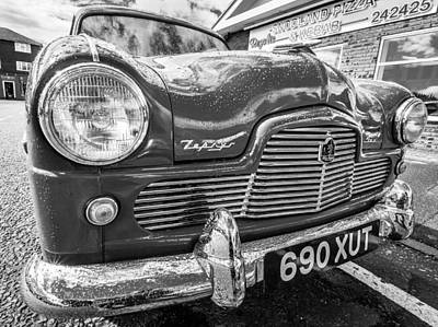 Photograph - Ford Zephyr. by Gary Gillette