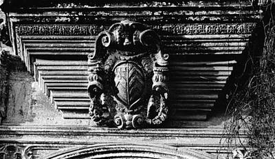 Photograph - Forde Abbey Doorway Detail by Guy Pettingell