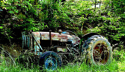 Photograph - Fordson Major Diesel by Robert J Andler