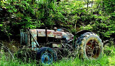 Photograph - Fordson Major Diesel by Robert J Andler