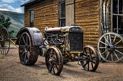 Photograph - Fordson Tractor by Ken Smith