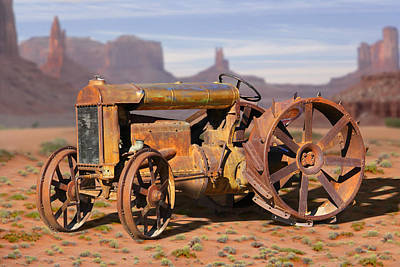 Fordson Tractor Art Print