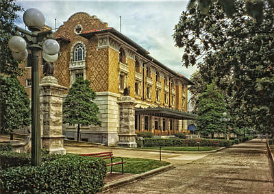Fordyce Bathhouse - Hot Springs Arkansas 1984 Art Print