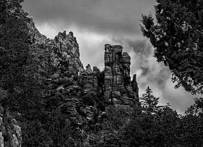 Mark Myhaver Rights Managed Images - Foreboding Towers Royalty-Free Image by Mark Myhaver