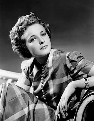 Films By Alfred Hitchcock Photograph - Foreign Correspondent, Laraine Day, 1940 by Everett