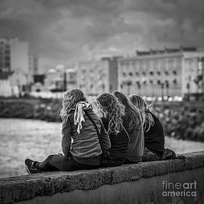 Photograph - Foreign Students Cadiz Spain by Pablo Avanzini
