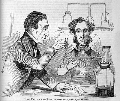 Toxicology Photograph - Forensic Toxicologists by National Library Of Medicine