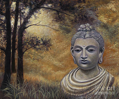 Painting - Forest Buddha by Birgit Seeger-Brooks