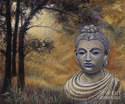 Forest Buddha Art Print