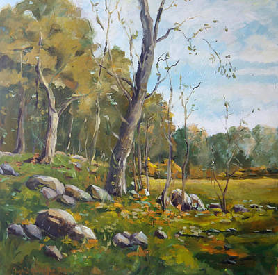Painting - Forest Clearing by Ingrid Dohm