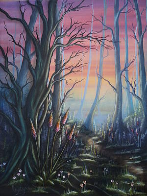 Painting - Forest Dreams by Krystyna Spink