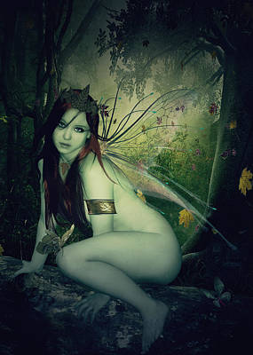 Photograph - Forest Fairy by Kristie  Bonnewell