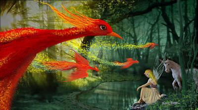 Forest Fantasy 1 Art Print
