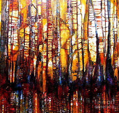 Painting - Forest Fire by Caia Matheson