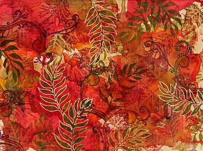 Forest Floor Art Print by Joann Loftus