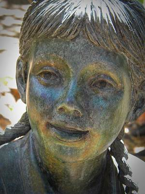 Photograph - Forest Girl by Frank Wilson