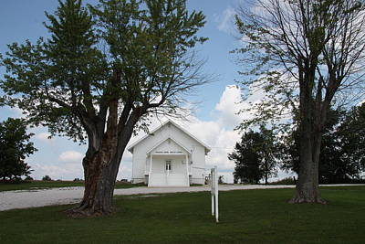Photograph - Pleasant Green Baptist Church by Kathy Cornett