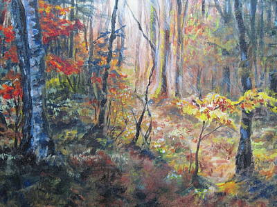 Painting - Forest Light by Sharon Sorrels