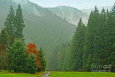 Forest Art Print by Nur Roy