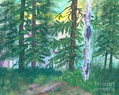 Painting - Forest Of Memories by Denise Hoag