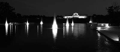 Photograph - Forest Park Grand Basin by Scott Rackers