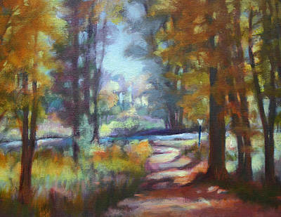 Painting - Forest Path by Carol Jo Smidt
