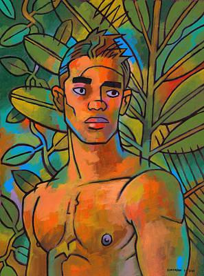 Forest Spirit 2 Art Print by Douglas Simonson