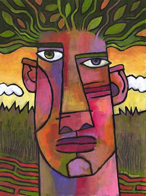 Ecology Painting - Forest Spirit 3 by Douglas Simonson
