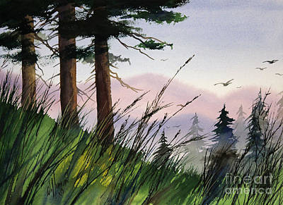 Williamson County Painting - Forest Splendor by James Williamson
