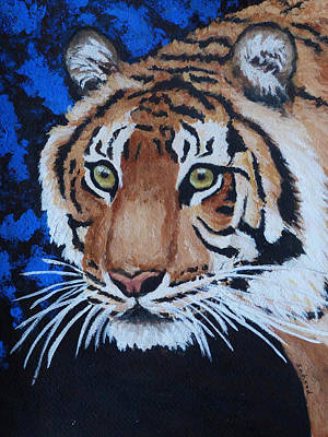 Painting - Forest Tiger by Margaret Saheed
