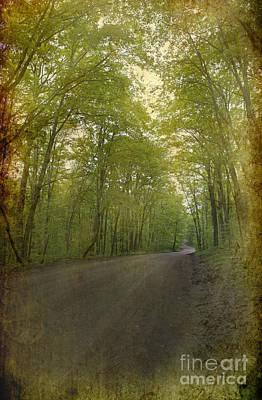Thomas Kinkade Rights Managed Images - Forest Tranquility... Royalty-Free Image by Nina Stavlund