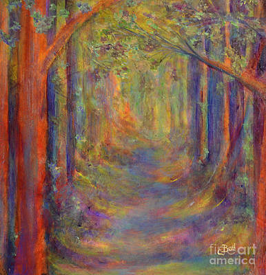 Painting - Forest Tunnel by Claire Bull