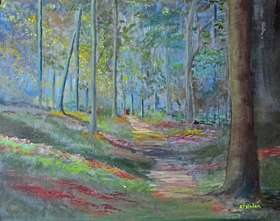 Painting - Forestenchanted  by Heidi Patricio-Nadon