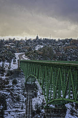 Photograph - Foresthill Bridge 3 by Sherri Meyer