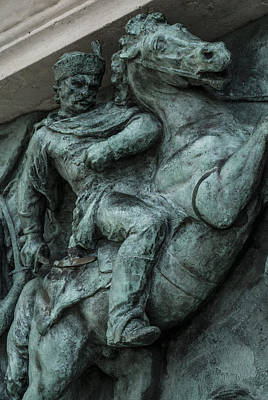 Budapest Sightseeing Tours Photograph - Forever Battle by Sabina Cosic