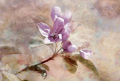 Art Print featuring the photograph Forever Blossom by Elaine Manley