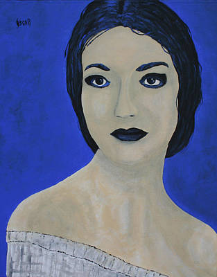 Painting - Forever Callas by Oscar Penalber