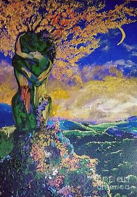 Spiritualism Painting - Forever Embracing by Stefan Duncan