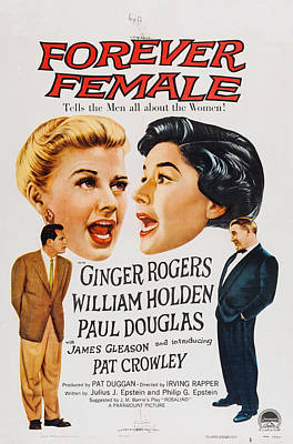 Forever Female, Top L-r Ginger Rogers Print by Everett