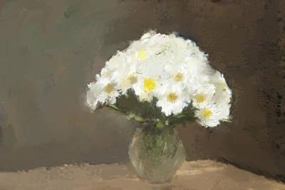 Flower Still Life Mixed Media - Forever Flowers by Karen Sperling