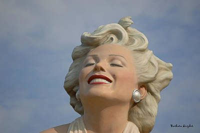Forever Marilyn Detail Art Print by Barbara Snyder