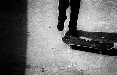 Skateboard Photograph - Forever by Mick Logan