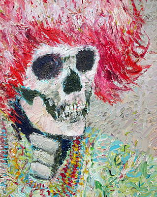 Painting - Forever Rocker by Fabrizio Cassetta
