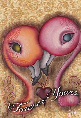 Painting - Forever Yours  by  Abril Andrade Griffith