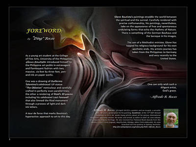 Digital Art - Foreword By Dingr  by Glenn Bautista