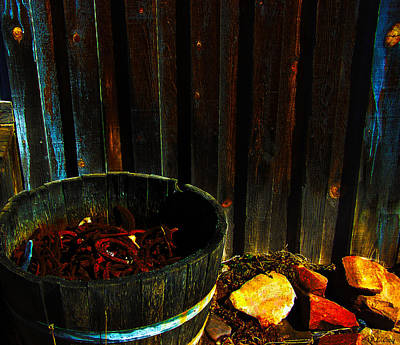 Photograph - Forge by Peri Craig