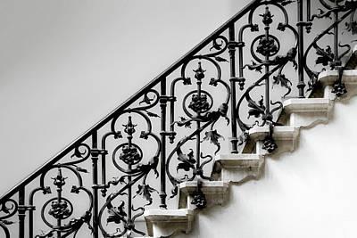 Forged Handrail Art Print